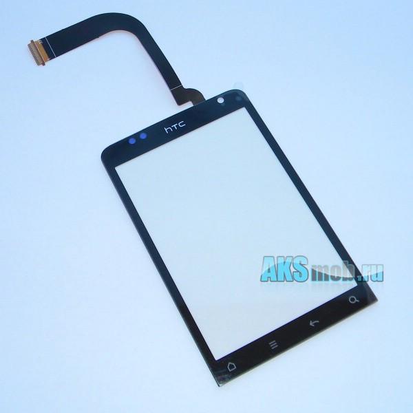 Тачскрин (Сенсорное стекло) для HTC C510E Salsa черный