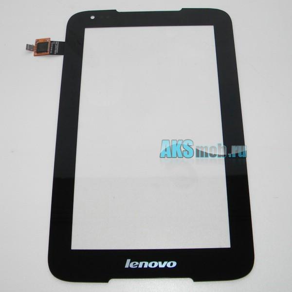 Тачскрин (сенсорная панель) для Lenovo IdeaTab A1000 черный - touch screen - Оригинал