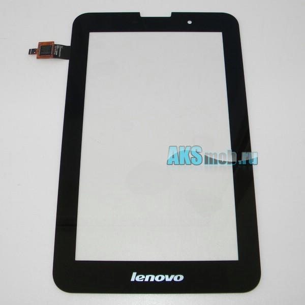 Тачскрин (сенсорная панель) для Lenovo IdeaTab A3000 черный - touch screen - Оригинал