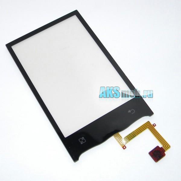 Тачскрин (Сенсорное стекло) для LG GT540 Optimus - черный - touch screen