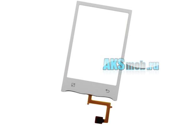 Тачскрин (Сенсорное стекло) для LG GT540 Optimus - белый - touch screen