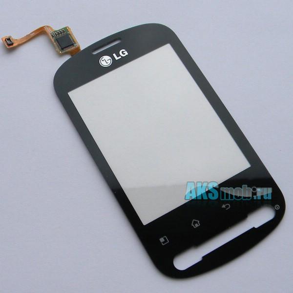 Тачскрин (Сенсорное стекло) для LG Optimus Me P350 - touch screen