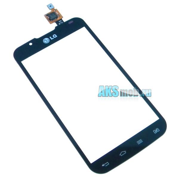 Тачскрин (Сенсорное стекло) для LG P715 Optimus L7 II Dual - touch screen