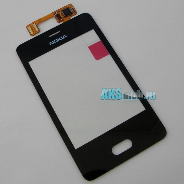 Тачскрин (Сенсорное стекло) для Nokia Asha 501 Dual Sim - touch screen