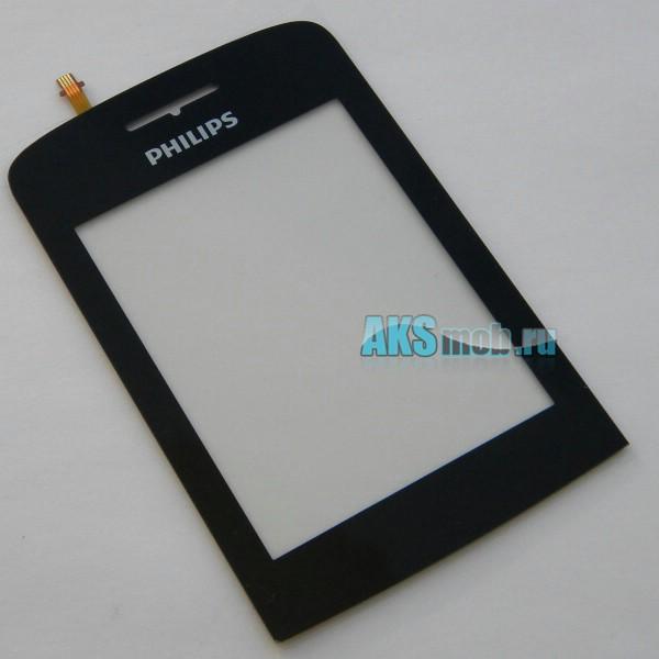 Тачскрин (Сенсорное стекло) для Philips Xenium X331 - черный - touch screen