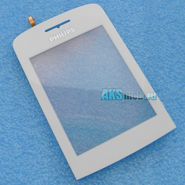 Тачскрин (Сенсорное стекло) для Philips Xenium X331 - белый