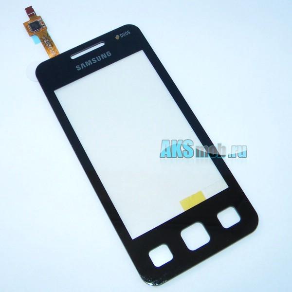 Тачскрин (Сенсорное стекло) для Samsung Star II DUOS GT-C6712 - черный