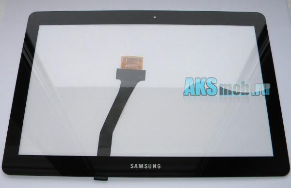 Сенсорное стекло (панель) для Samsung Galaxy Note 10.1 N8000 и N8010 - тачскрин - черный