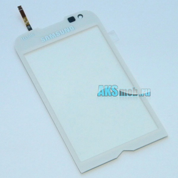 Тачскрин (Сенсорное стекло) для Samsung GT-I8000 Omnia2 - белый - Оригинал
