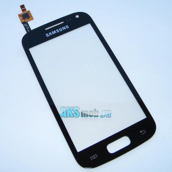 Тачскрин (Сенсорное стекло) для Samsung Galaxy Ace II GT-i8160 - черный