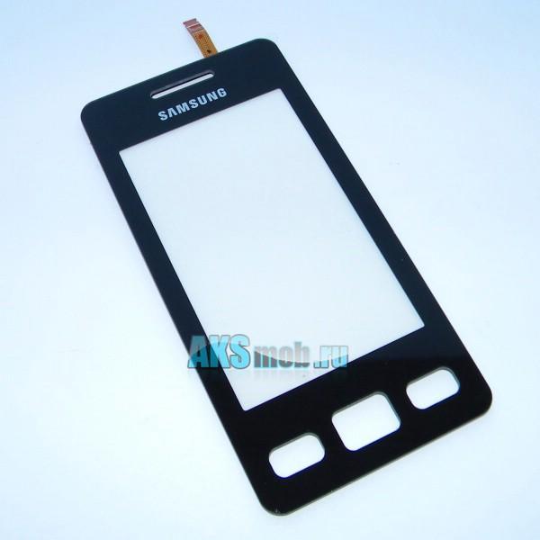 Тачскрин (Сенсорное стекло) для Samsung GT-S5260 Star II - черный