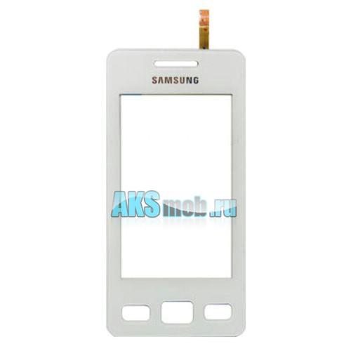 Тачскрин (Сенсорное стекло) для Samsung GT-S5260 Star II - белый
