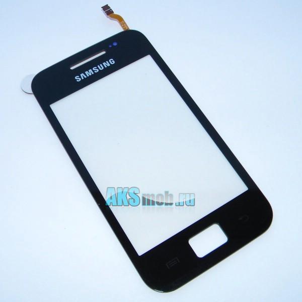 Тачскрин (Сенсорное стекло) для Samsung GT-S5830 Galaxy Ace - черный - Оригинал