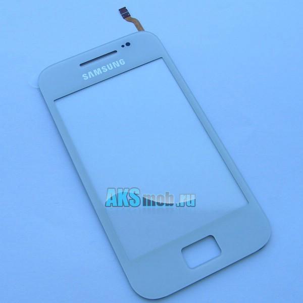 Тачскрин (Сенсорное стекло) для Samsung GT-S5830 Galaxy Ace - белый - Оригинал