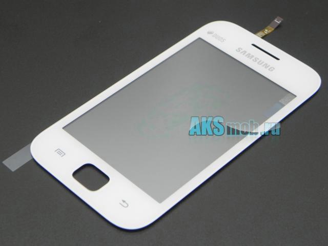 Тачскрин (Сенсорное стекло) для Samsung GT-S6802 Galaxy Ace Duos - белый