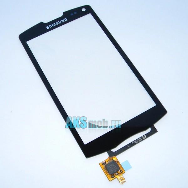 Тачскрин (Сенсорное стекло) для Samsung GT-S8530 Wave II черный