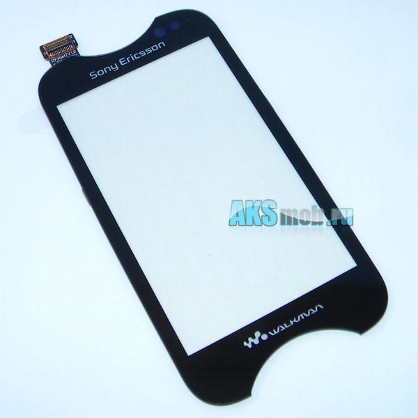 Тачскрин (Сенсорное стекло) для Sony Ericsson WT13i Mix Walkman - черный - Оригинал