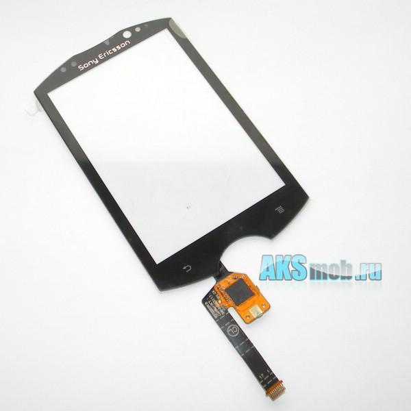 Тачскрин (Сенсорное стекло) для Sony Ericsson WT19i Live With Walkman Black