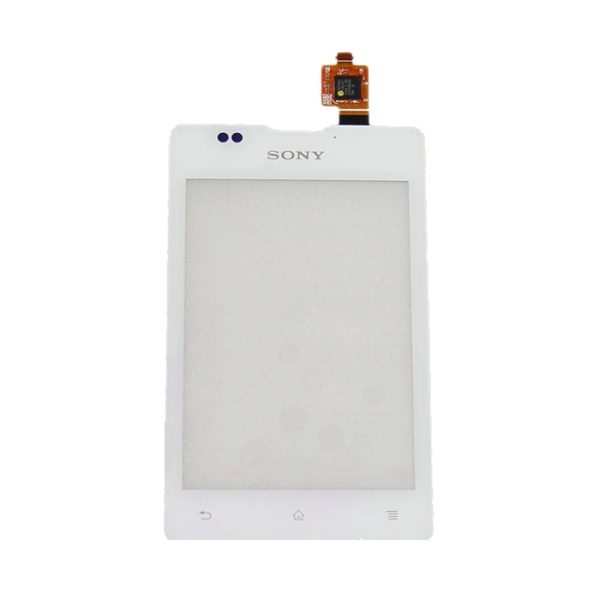 Тачскрин (сенсорное стекло) для Sony C1605 Xperia E Dual - белый