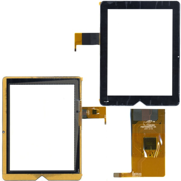 Тачскрин (сенсорная панель - стекло) для teXet TM-9738W - touch screen
