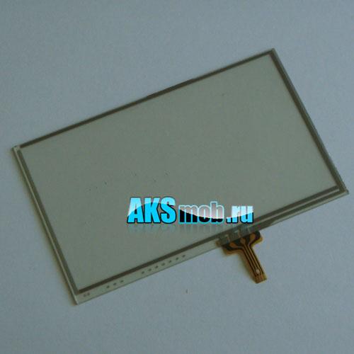 Тачскрин (сенсорное стекло) для GPS универсальный 8 (69*114мм диагональ 132мм)