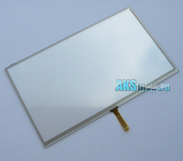 Тачскрин (Сенсорное стекло) для автомагнитолы 7 дюймов тип 15 (162мм x 97мм, диагональ 189мм) - touch screen T1527C-B2