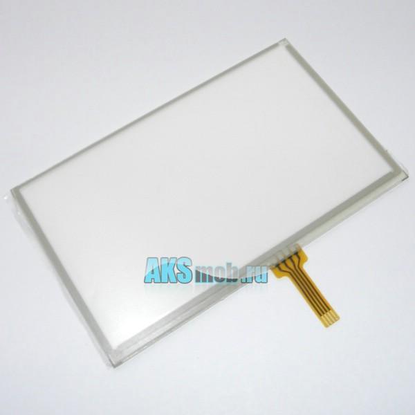Тачскрин (Сенсорное стекло) для GPS навигатора 4,3 дюйма Тип30 (104мм*64мм, диагональ 122мм)