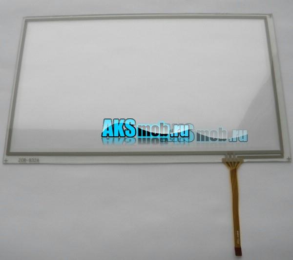 Тачскрин (Сенсорное стекло) для автомагнитолы 8 дюймов тип4 (192мм x 116мм, диагональ 225мм) - touch screen ZCR-932A