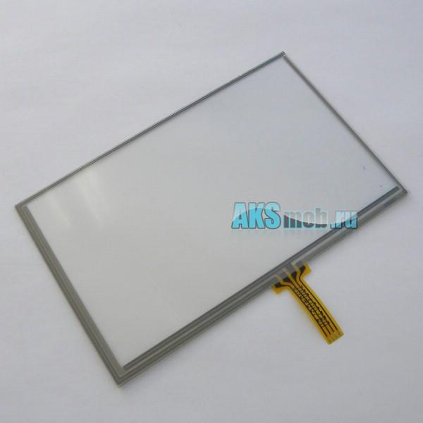 Тачскрин (Сенсорное стекло) 5 дюймов для GPS навигатора тип 18 - размер 117мм на 74мм диагональ 140мм