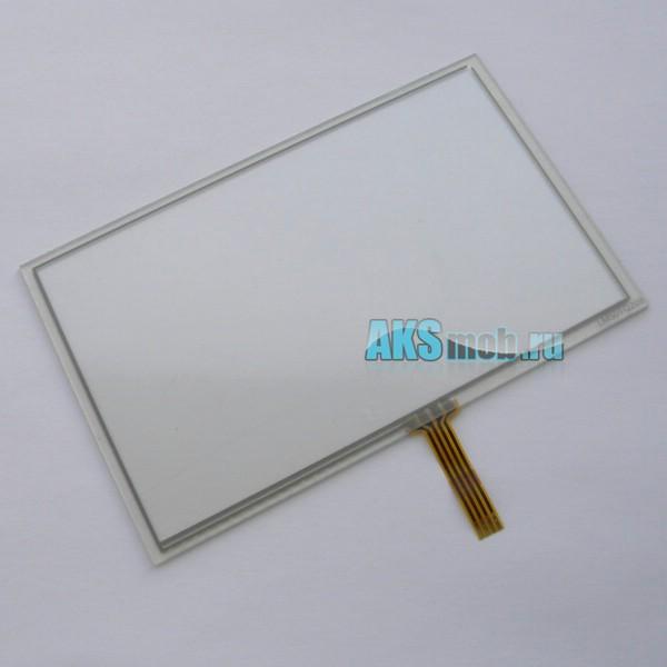 Тачскрин LM50TQ209 (Сенсорное стекло) 5 дюймов для GPS навигатора тип 19 - размер 116мм на 72мм диагональ 136,5мм