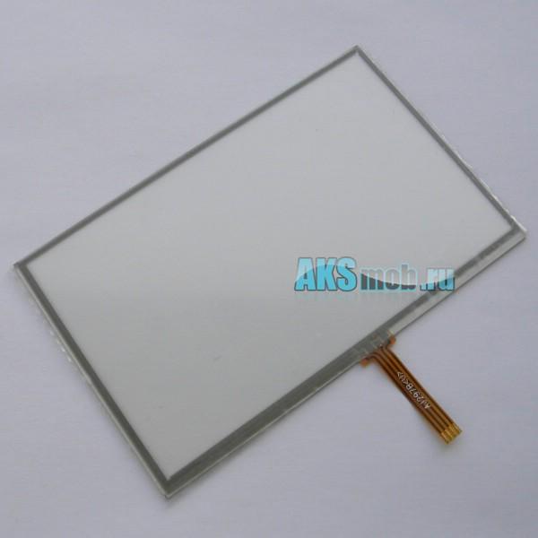 Тачскрин (Сенсорное стекло) 5 дюймов для GPS навигатора тип 21 - размер 119мм на 74мм диагональ 140мм