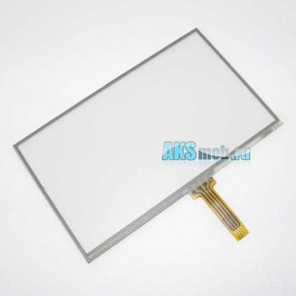 Тачскрин (Сенсорное стекло) TJR0007 для GPS навигатора 4,3 дюйма Тип31 (102мм*63мм, диагональ 120мм)