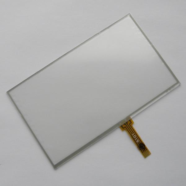 Тачскрин (Сенсорное стекло) для GPS навигаторов Explay 5 дюймов - размер 117мм на 70мм - шлейф под пайку