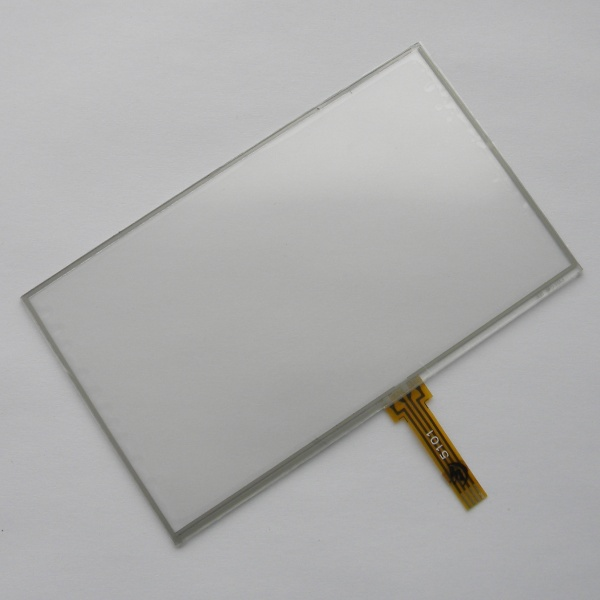 Тачскрин для навигаторов APLINE / IL Trade / Mystery / Prology / TeXet - 5 дюймов - размер 117мм на 70мм - шлейф под пайку