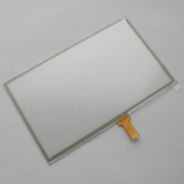 Тачскрин (Сенсорное стекло) для GPS Универсальный 5 дюймов тип 3 (73мм*120мм, диагональ 141мм)