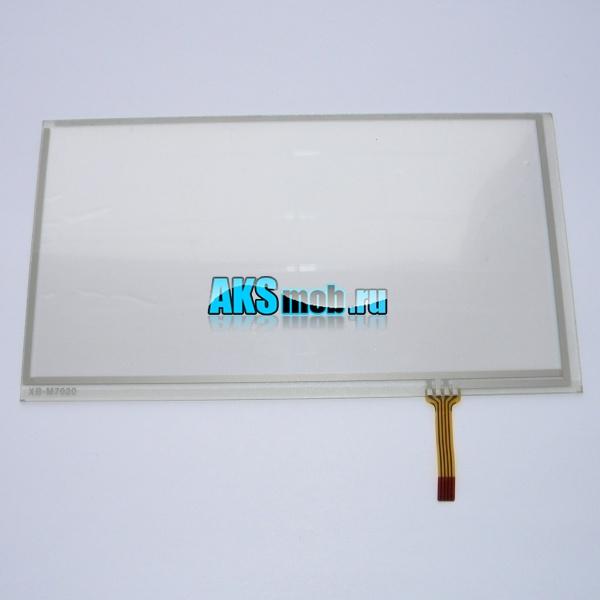 Тачскрин (Сенсорное стекло) для автомагнитолы 7 дюймов тип 8 (91мм x 167мм, диагональ 191мм) - touch screen