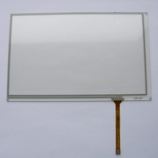 Тачскрин (сенсорное стекло) для GPS навигатора 164мм х 104мм - 7 дюймов тип 21 - ZCR-987