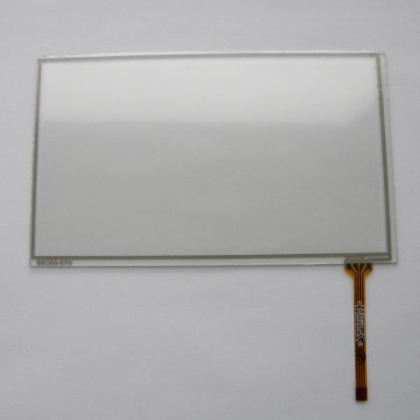 Тачскрин 164мм на 98мм для автомагнитолы 7 дюймов тип 23 -  сенсорное стекло BR300-070