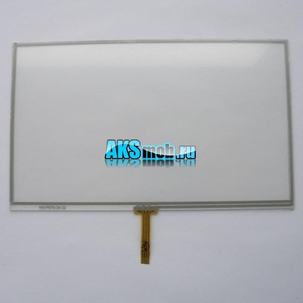 Тачскрин 161мм на 96мм для автомагнитолы 7 дюймов тип 25 -  сенсорное стекло HN-P070-34