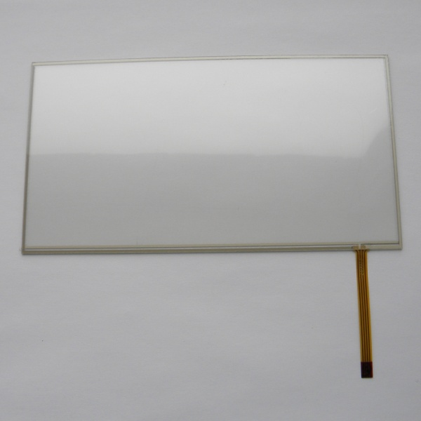 Тачскрин 173мм на 93мм для автомагнитолы 7 дюймов тип 27 -  сенсорное стекло 070697
