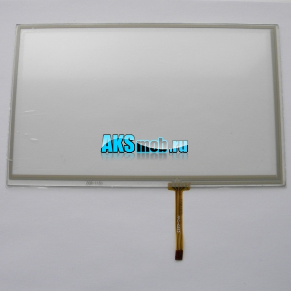 Тачскрин - сенсорное стекло для GPS навигатора 192мм на 116мм - 8 дюймов тип 7 - ZCR-1151