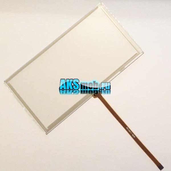 Тачскрин 149мм на 80мм для автомагнитолы - сенсорное стекло, touch screen