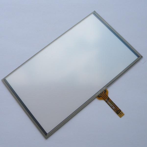 Тачскрин (Сенсорное стекло) 5 дюймов для GPS навигатора тип 9 (70*117мм диагональ 136мм, LFTP-160-5)