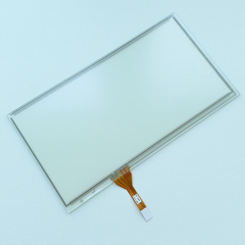Тачскрин (Сенсорное стекло) для GPS навигатора и автомагнитол 149мм на 83мм, диагональ 6 - 6,5 дюймов тип19
