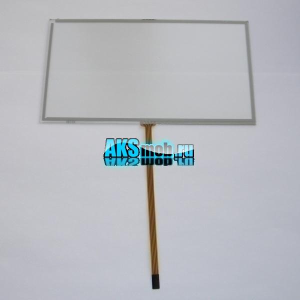 Тачскрин 166мм на 91мм для автомагнитолы - сенсорное стекло 7 дюймов тип 35