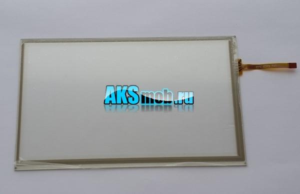 Тачскрин - сенсорное стекло для автомагнитол и навигаторов 192мм на 116мм - 8 дюймов тип 10 - R-1084