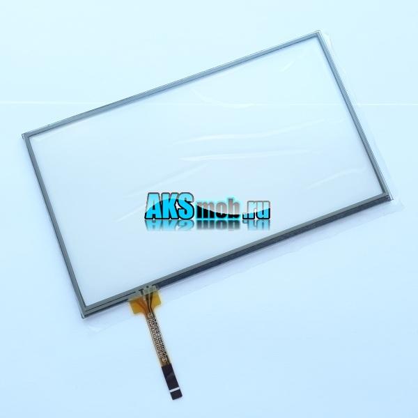 Тачскрин 161мм на 96мм для автомагнитолы - сенсорное стекло 7 дюймов тип 41