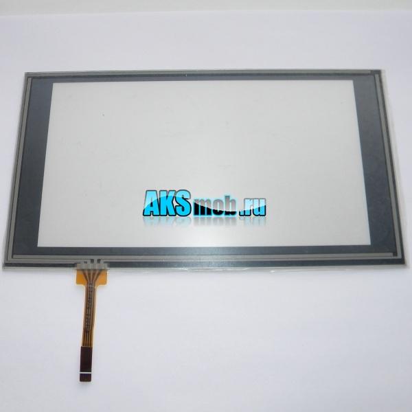 Тачскрин 186мм на 103мм для автомагнитолы - сенсорное стекло 7 дюймов тип 46