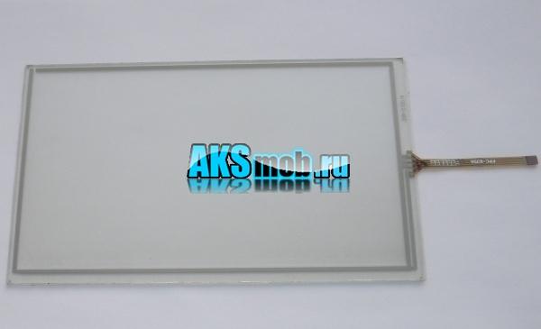 Тачскрин - сенсорное стекло для автомагнитол и навигаторов 192мм на 117мм - 8 дюймов тип 12 - ZCR-2155-4