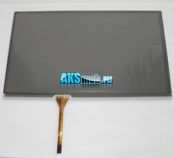 Тачскрин 211мм на 126мм для автомагнитолы 8-11 дюймов тип 33 -  сенсорное стекло KDT-4590 AR